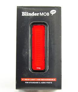 Knog Blinder MOB V Mr Chips Rear Bicycle Light Black