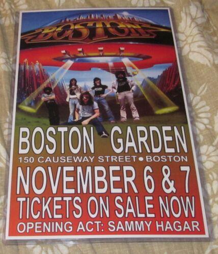 BOSTON 1978 BOSTON GARDEN REPLICA CONCERT POSTER