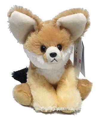 """Aurora Destination Nation FENNEC FOX 8"""" Plush Stuffed Animal"""