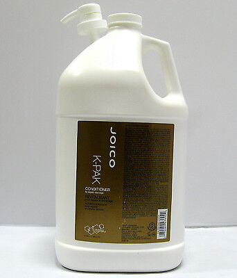 Joico K-Pak Conditioner 128 oz Gallon with a PUMP Repair Damage (Repair Conditioner Gallon)