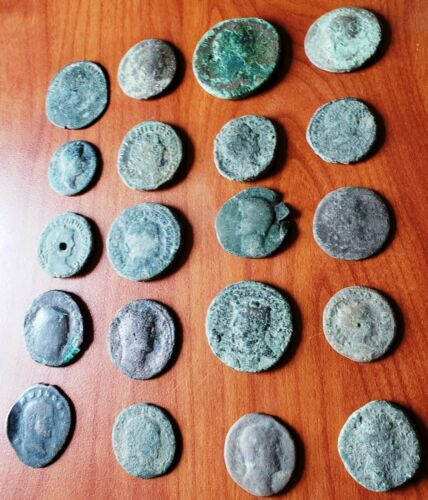 (20) Roman Coins...194.50 Grams Total, (6.86 oz.)