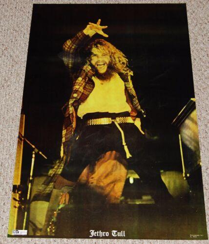 JETHRO TULL Ian Anderson In Concert Poster 1972 Kay Distributors Prog Rock