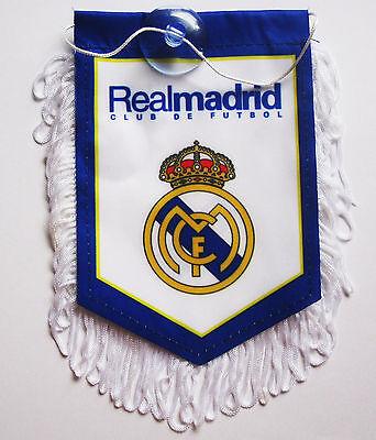 Real Madrid Mini (2017 for Real Madrid Flag fans soccer sport NEW Pennant mini Banner)