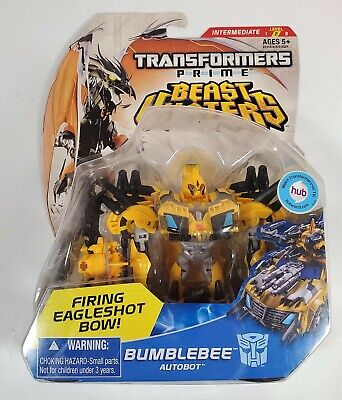 BUMBLEBEE TRANSFORMERS PRIME BEAST HUNTERS DELUXE CLASS DAMAGED PACKAGE 2012