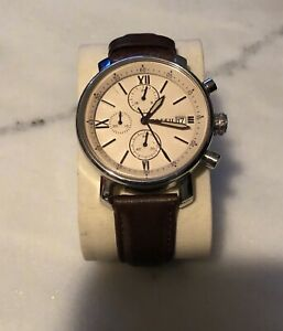 Men's Brown Fossil watch