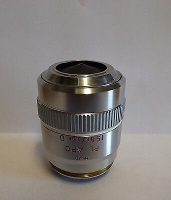 Leitz Leica Plan Apo 150x D Microscope Planapo 32mm Thread Part 567043