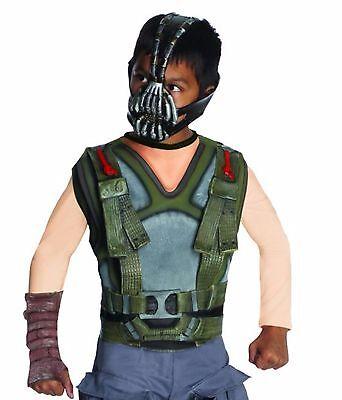 Bane Kids Costume (Deluxe  Bane Costume Dark Night Rises Kids Small & Medium )
