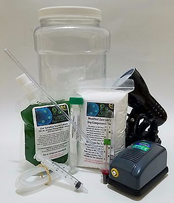 Complete Spirulina Grow Kit Includes Everything Perfect Science Project.