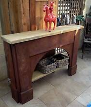 Hall Table,Shelves,Rustic,Recycled Old Fireplace Mantels East Kurrajong Hawkesbury Area Preview