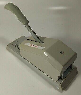 Addressograph Bartizan 871-701-001 Compact Hand Pump Credit Card Imprinter