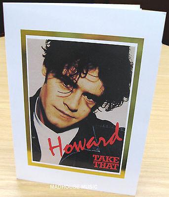 TAKE THAT Greetings Card HOWARD DONALD 1994 Original OLIVERS BOOKS UK Mint  RARE