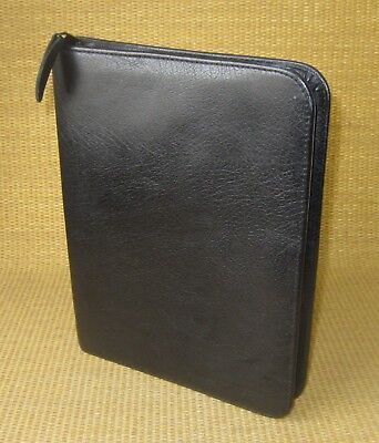 Classic 1.125 Rings Great Black Leather Franklin Coveyquest Plannerbinder