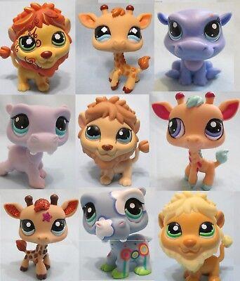 Littlest Pet Shop Random Lot 3 Hippo Giraffe Lion Authentic BUY3 GET 1 FREE