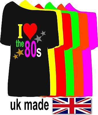 NEW! I LOVE 1990`S.1980`S.1970`S 1960`S SLASH NECK SIZE'S XS TO 5X party t - 1970's Party Kostüm