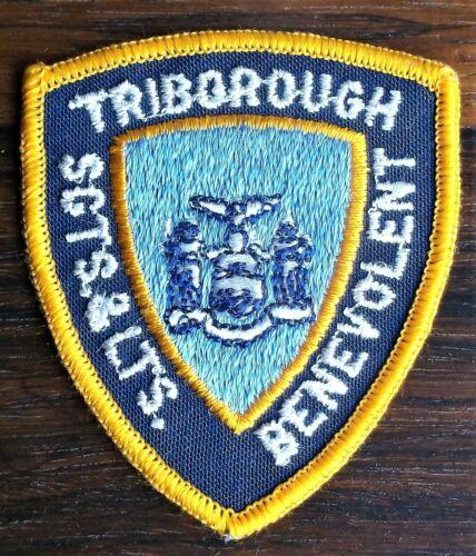 GEMSCO NOS Patch POLICE TRIBOROUGH SERGANTS & LIEUTENANTS BENEVOLENT NY V1m