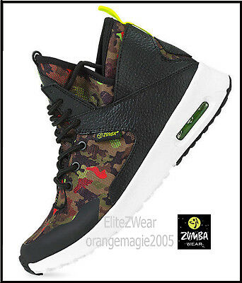 ZUMBA High Top Shoes Trainers w Impact Max - Air Classic Remix w Best Support!