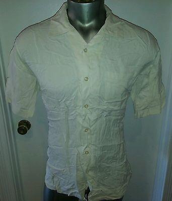 **BEST BUY**  POLO RALPH LAUREN MEN  CASUAL SHIRT SIZE L OFF WHITE (Best Ralph Lauren Polo Shirts)