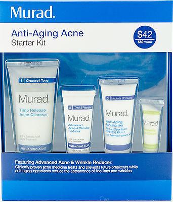Murad Anti-Aging Acne Starter Kit NIB AUTH - EXP 07/17
