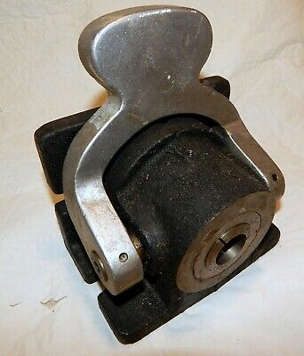 Cnc Milling Horizontal Collet Spin Index Fixture 454003