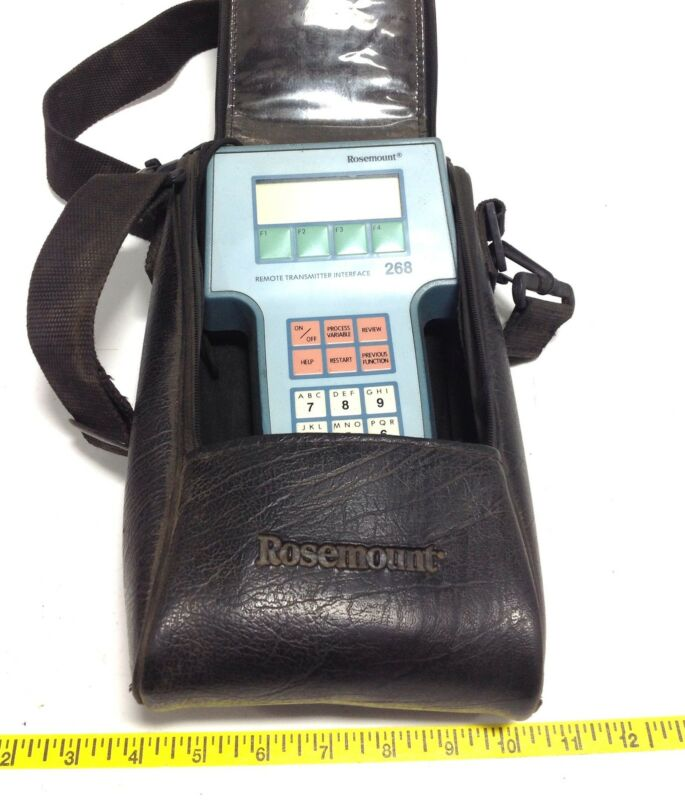 ROSEMOUNT HAND HELD REMOTE TRANSMITTER MODEL 268 104805