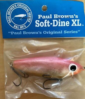 MirrOlure Tidal Surge Lure The Thing Paddle Tail 6ct Blue New