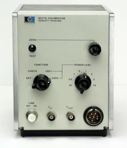 HP Keysight 8477A Calibrator for 432-series Power Meters