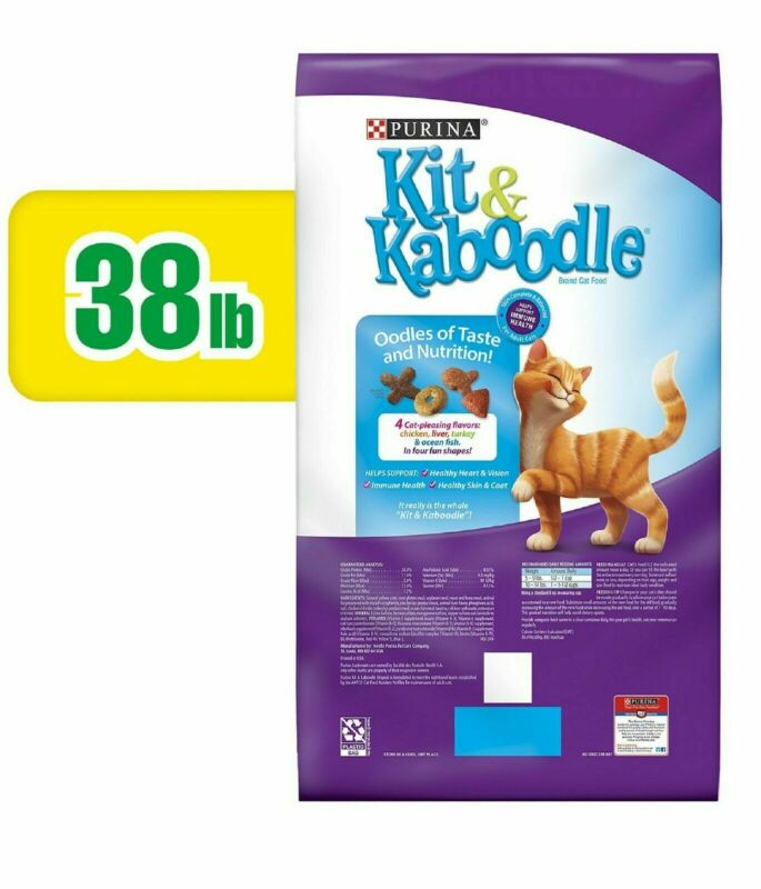 Purina Kit & Kaboodle Original Adult Dry Cat Food (38 lbs.) - Free Shipping