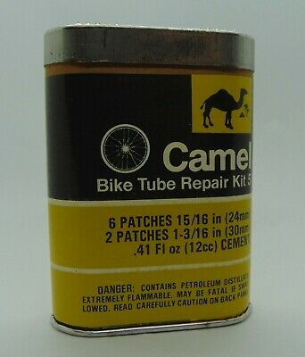 Vintage Camel Rubber Bicycle Tube Repair Rubber Tire Kit Advertising