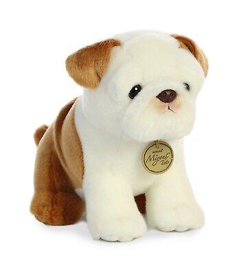New AURORA MIYONI Soft Stuffed Plush Toy ENGLISH BULLDOG Ani