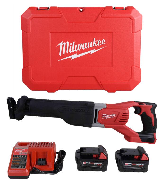 Milwaukee 2621-22 M18 SAWZALL 18V Cordless Lithium-Ion Reciprocating Saw Kit