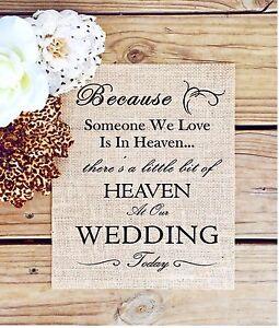 Burlap Wedding Decorations eBay