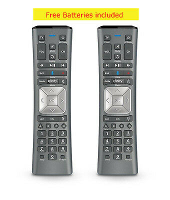 Lot Of 2 Xfinity Comcast Voice Remote Control Xr11 Backlight X1 With Batteries