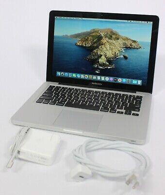 "Apple 13"" MacBook Pro 2012 i5 2.5GHz 240 GB to 1TB SSD 8GB or 16GB RAM Catalina"