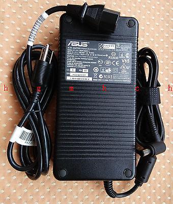 Original Genuine OEM ASUS 230W AC Adapter for ASUS ROG G750JZ-DS71 Gaming Laptop