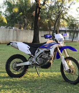 YAMAHA WR450F 2014. WITH EXTRAS