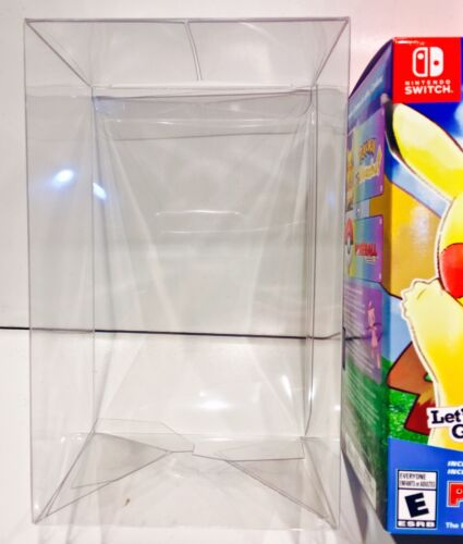 1 Box Protector For Pokemon Let