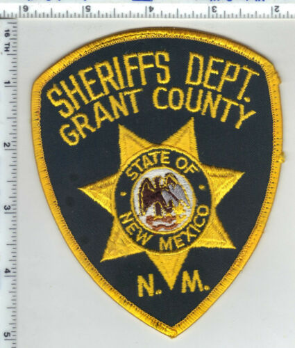 Grant County Sheriff (New Mexico) 3rd Issue Shoulder Patch