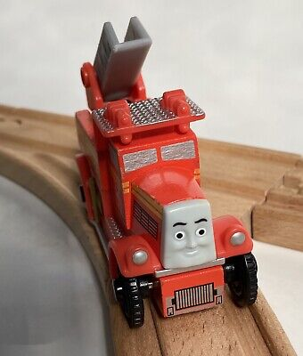 VGUC FLYNN Fire Truck Thomas & Friends Wooden Railway Train Engine