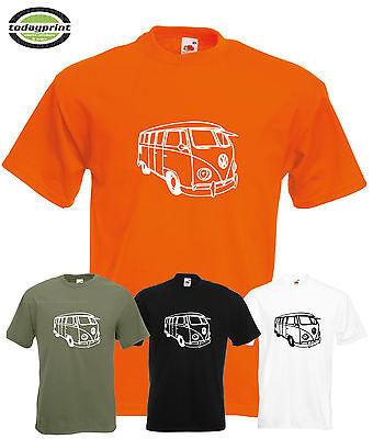 Heavy T Shirt, für VW BUS, T1, T2, T3, Bulli, Transporter, Käfer, Auto,
