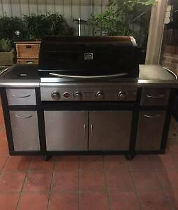 Stainless Steel Matador 4 burner with side stove top Merrylands Parramatta Area Preview