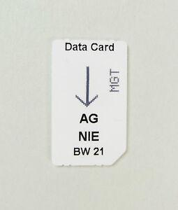 NIE (Nieren)~ ChipCard für alle BioWave Systeme~ Dr. Clark Dr. Rife ~ Zapper