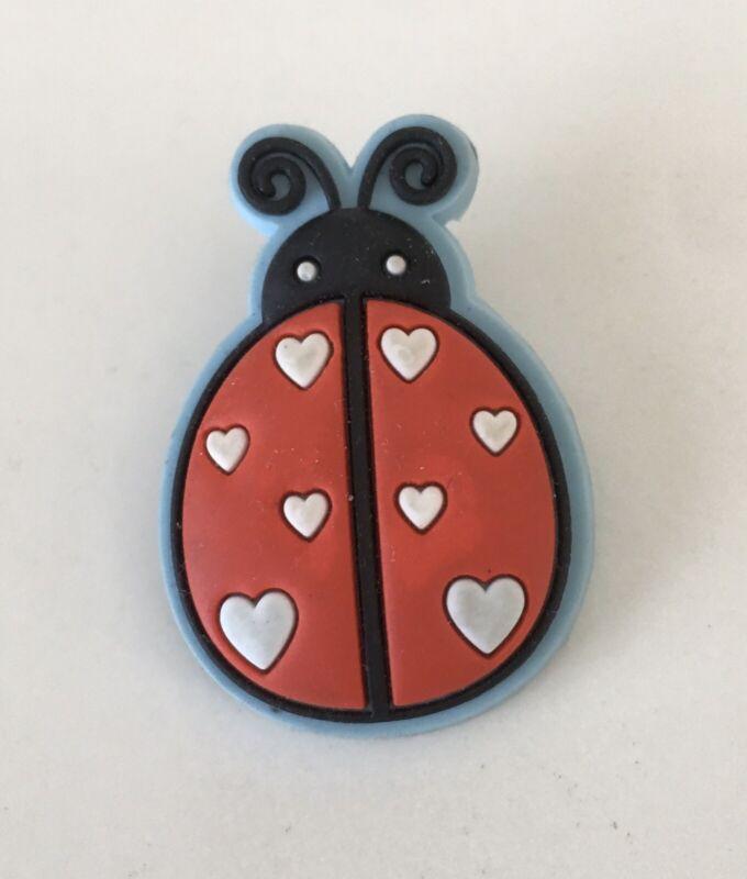 Vintage Loungefly Ladybug Pin Neoprene Cute!