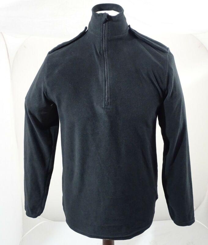 Churchill Black Lightweight Fleece 100% Polyester 1/2 Zip Security BLAFLC01A