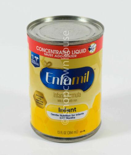 5 cans Enfamil milk-based INFANT Formula 13oz +Iron liquid CONCENTRATE 06/2021