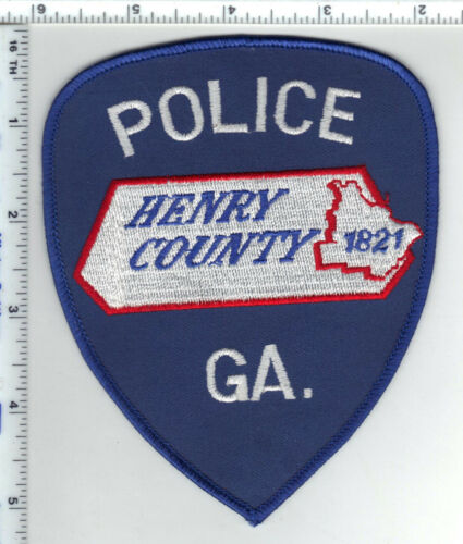 Henry County Police (Georgia) 2nd Issue Shoulder Patch