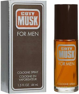Coty Musk Cologne by Coty, 1.5 oz Cologne Spray for Men