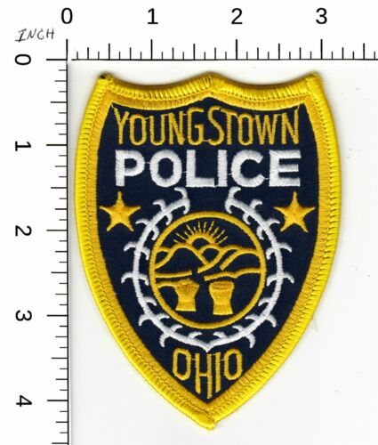 YOUNGSTOWN POLICE SHOULDER PATCH OHIO OH