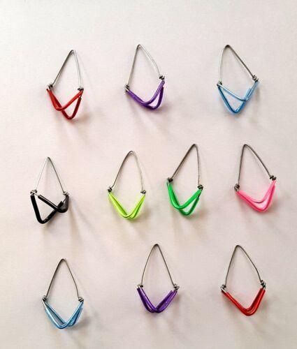 10 sitar Mizrab Set, Plastic Wrapped, Sitar Plectrums, thin wire, Sitar Mizraf