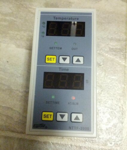 NTTF-2000 Heat Press Heat Transfer Machine Digital Controller & Timer