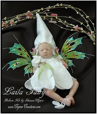 Limited Parts - LIMITED Edition FAIRY BLAnK PARTS Reborn kit Laila ONLY 350 WW by-Shawna Clymer
